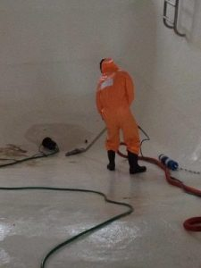 Cleaning Up Mold And Water Damage From A Commercial Space